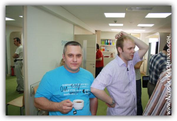 Семинар Сергея Жуковского: 1-й день мастер-класса