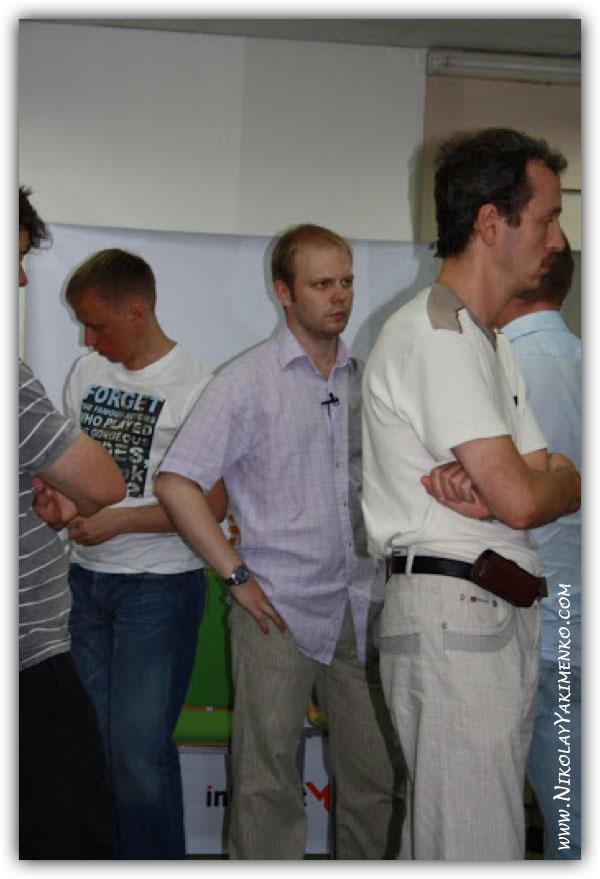 Семинар Сергея Жуковского: 2-й день мастер-класса