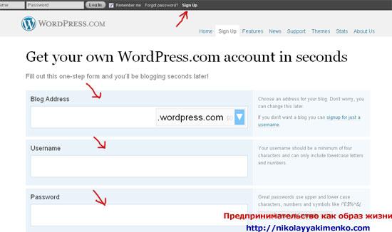 WORDPRESS: Что такое wordpress? Часть 2. Как создать блог WordPress бесплатно?