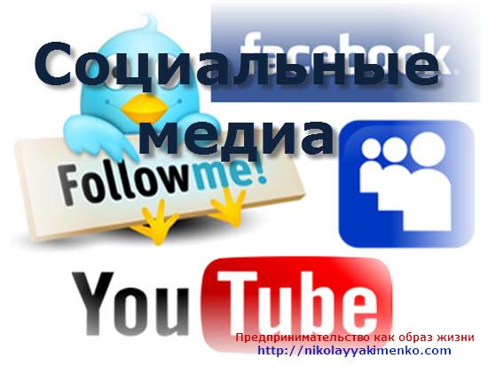 Что такое социальные медиа