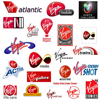 Логотипы группы компаний Virgin
