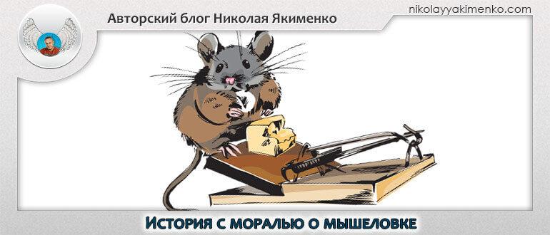 притча про мышь и мышеловку