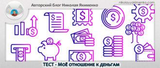 отношение к деньгам тест