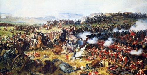битва Ватерлоо