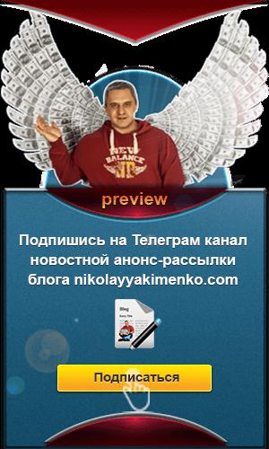 Анонс новых статей в телеграм канале